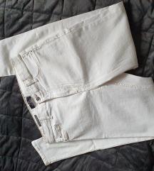 Bershka bijele traperice