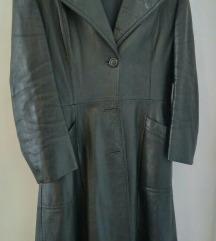 Prava koža,jakna/mantil 38 akcija 160 kn🍀