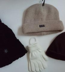 SNIŽENO LOT zimske kape