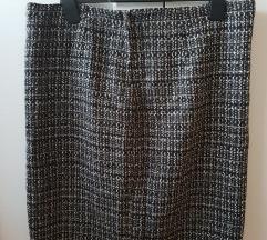 Karirano odijelo ( sako i suknja ) vel. 40