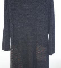 Haljina topla asimetricna moher