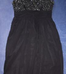 Crna svečana haljina Vero Moda