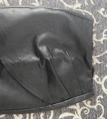 Strasuvarius kožna suknja