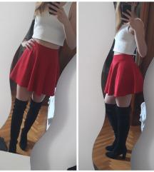 Skater crvena suknja