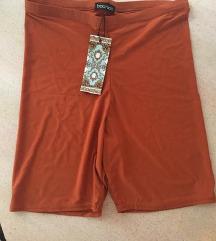 Novo BOOHOO biciklističke kratke narančaste tajice
