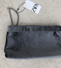Nova plisana zara torbica s etiketom