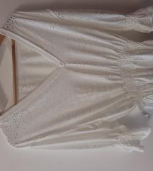 Bijela čipkana majca