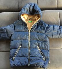 Zimska jakna Benetton, vel M, 7-8god