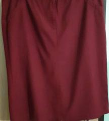 Suknja crvena br.52
