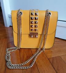 Žuta torbica like Valentino