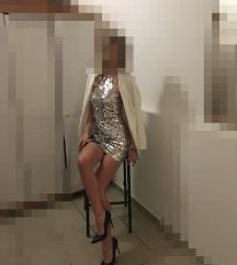 Sequin asos haljina
