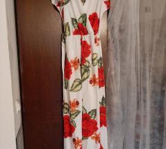 Dugacka cvjetna haljina