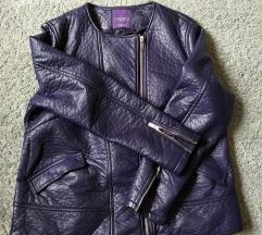 Mango Violeta kožna jakna
