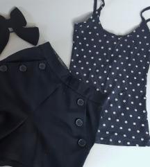 LOT - kratke hlače i majica sa točkicama