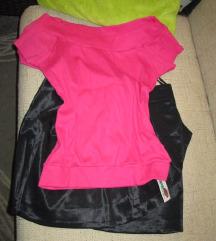 Suknja i majica vel.L- novo