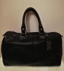 Crna, klasična torba (Sisley)