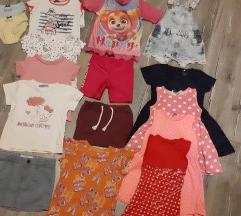 Lot odjece za ljeto 98-104