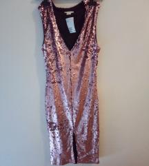 Sequin haljina s pt