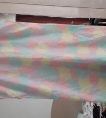 Šarena tanka ljetna haljina