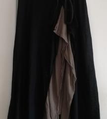 Sisley dvoslojna suknja