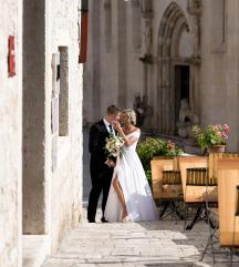 Vjenčana bijela haljina by Dijana Viljevac  AKCIJA