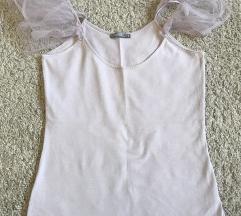 Zara majica s puf rukavima (postarina ukljucena)