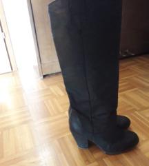 ALDO kožne čizme crne 40