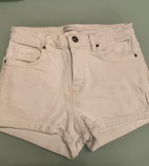 Bijele kratke hlače S