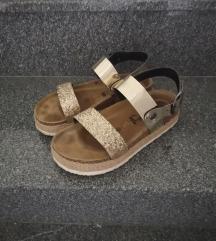 Like Futti zlatne sandale 36 REZZ