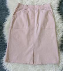 BASLER pamučna suknja puder roza 38/40
