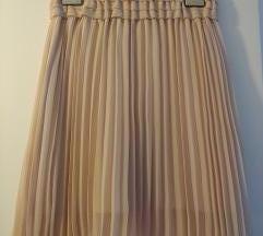 Sisley plisirana puder suknja