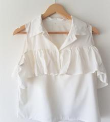 Like Zara bijela kosulja off shoulder
