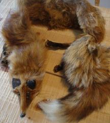 Okovratnik - lisica - pravo krzno