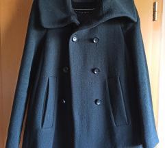 Zara crni kratki kaput (i za trudnice)
