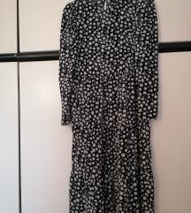 H&m midi cvijetna haljina