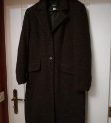 Tamnosmeđi zimski kaput