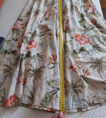 Zara suknja ljetna 36