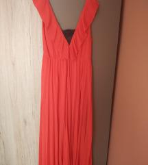 Nova Zara maxi plisirana haljina