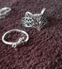 Set ukrasnih prstena