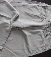 bež keper muške ljetne hlače