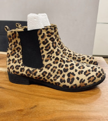 ASOS leopard gležnjače