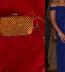 Svecana zlatna torbica