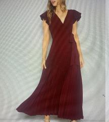 ljetna plise maxi haljina 36/38
