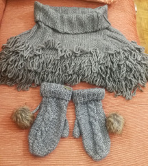 Šal i rukavice - NOVO