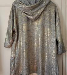 Zlatna bluza sa kapuljačom
