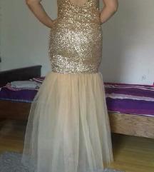 Duga šljokičasta sirena haljina - rasprodaja!