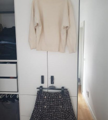 Nova suknja + pulover (vel. S)