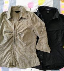 Lot 2 H&M košulje 3/4 rukava