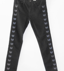 NOVO: Crne slim hlače, H&M
