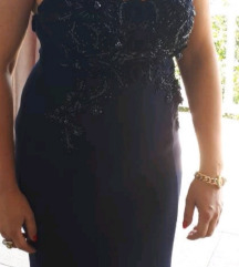 Svečana modra haljina